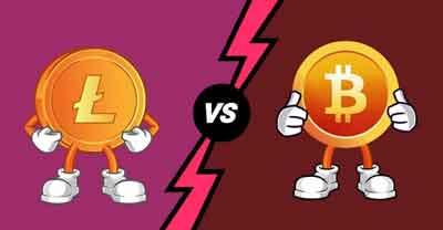 Litecoin vs. Bitcoin